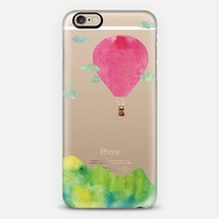 Sunset Balloon (Fuchsia) iPhone 6 case by Kanika Mathur | Casetify