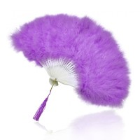 Princess Charlotte purple feather fan - Historic Royal Palaces online gift shop