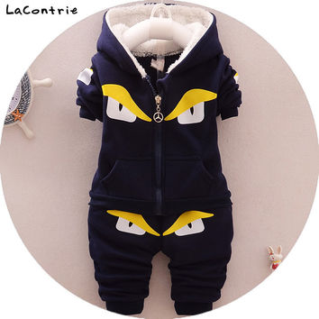 Safety Cosy Lacontrie Big Monster Clothing for Baby Boy newborns babies Boys Kids' things Clothes Coat + Pants