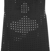Zimmermann - Perforated crepe top and stretch sports bra set