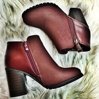 Wine Lover Bootie