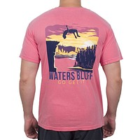 Flippin' Out Tee Shirt in Watermelon by Waters Bluff