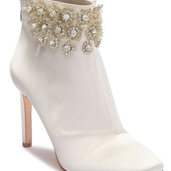 Imagine Vince Camuto | Lura Crystal Flower Bootie | Nordstrom Rack