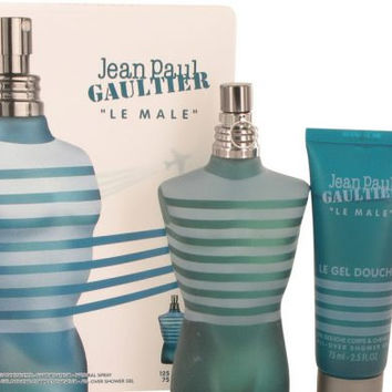 JEAN PAUL GAULTIER by Jean Paul Gaultier Gift Set — 4.2 oz Eau De Toilette Spray + 2.5 oz Shower Gel Men