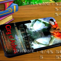 Mortal Instruments City Of Ashes For iphone 4 iphone 5 samsung galaxy s4 / s3 / s2 Case Or Cover Phone.