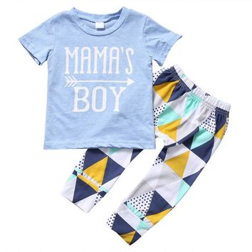 Mama's Boy two Piece Outfit for your little man