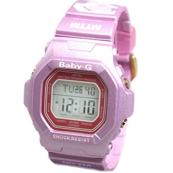 Casio Baby-G Married to the Mob - Digital Display - Pink Strap - World Time W...
