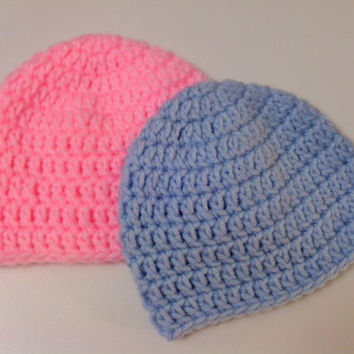 Crochet Baby Hat Pattern Beginner : Best Newborn Baby Hat Crochet Pattern Products on Wanelo