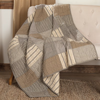 Sawyer Mill Charcoal Throw