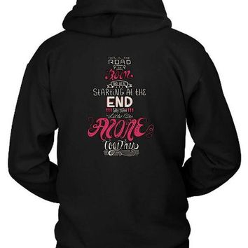 Fall Out Boy Lyric Quote Hoodie Two Sided