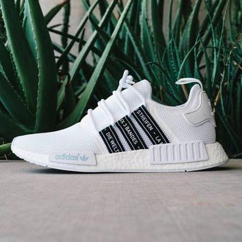 "Women ""Adidas"" Fashion Trending White Leisure Running Sports Shoes"