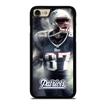 ROB GRONKOWSKI NEW ENGLAND PATRIOTS 2 iPhone 7 Case Cover