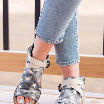 MDIG8 Not Rated Avril Sandal- Denim