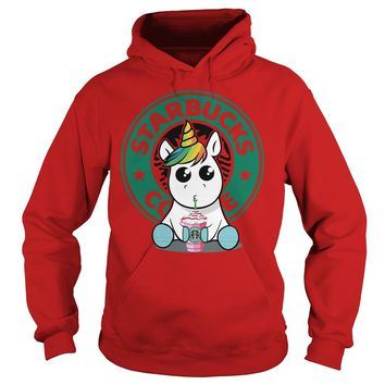 Unicorn Drink Starbucks Coffee Shirt Hoodie