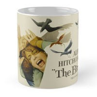 'HITCHCOCK - THE BIRDS' Mug by Vic Mat
