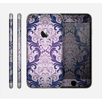 The Royal Purple Laced Wallpaper Skin for the Apple iPhone 6