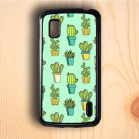 Dream colorful Cactus Nexus 4 Case