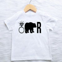 ALL SIZES Customizable COLORS Ring Bearer Ringbearer shirt t-shirt ring bearer ring security