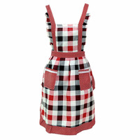 Women Lady Restaurant Home Kitchen Bib Cooking Aprons With Pocket  quality first