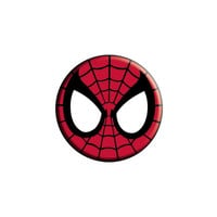 Spiderman Mask Button