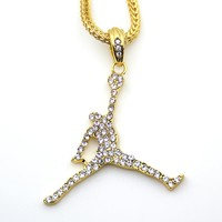 Air Jordan Men's Jewelry Sports pendant Hip hop NBA YoungBoy