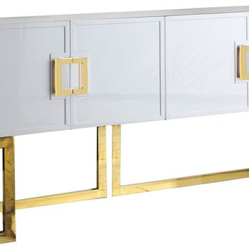 Beth Buffet Gold / White Lacquer