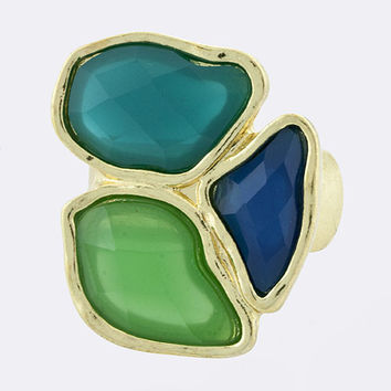 Jewel Trio Ring