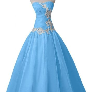 Sunvary 2016 Organza Bridesmaid Dresses Prom Formal Gowns Long