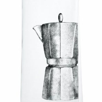 Modern Art Flour Sack Towel (Coffee Pot)