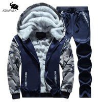 Brand Clothing Men's Sets Heavy Weight Fleece Sportswear Sets Hoodie Men Fashion Printing Sets Men Sweatsuit For Man Tracksuit