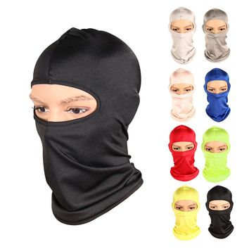 Outdoor Sports Windproof Face Mask Winter Neck Warmer Balaclava Face Mask for Skiing Motorcycle Cycling Climbing Mask