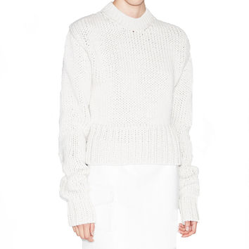 Acne Studios Liana White Sweater