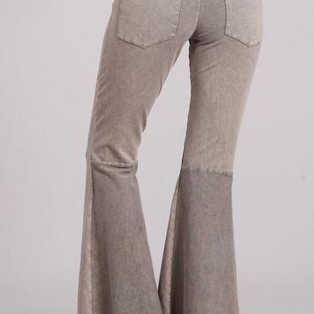 Mineral Wash French Terry Pants