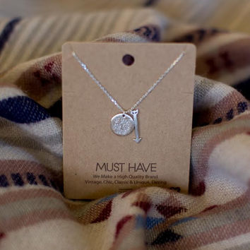 Must Have Be Brave & Keep Going - Silver
