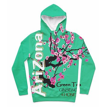 Arizona Green Tea Hooded Sweatshirt