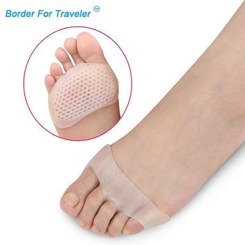 Soft Silicone Gel Toe Pads / High Heel Shock Absorption Anti Slip-Resistant Foot Pad
