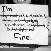 {All Things New}: I'm Fine...