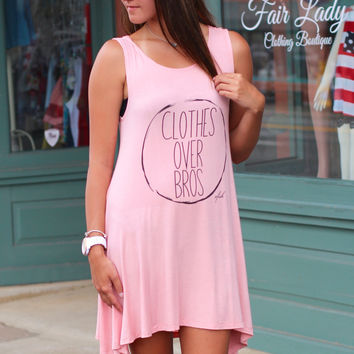Vfish: Clothes Over Bros Tunic Dress {Rose}