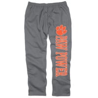 Clemson Tigers Back Home Sweatpants – Charcoal