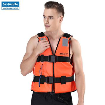 Men Water Sports Boating Life Vest Neoprene For Fishing Floating Clothing Adult Kayak Survival Life Jacket Swiming Vest