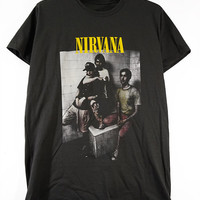 NIRVANA  T-shirt, Kurt Cobain, classic Rock, Bleach, Men and unisex t-shirt.