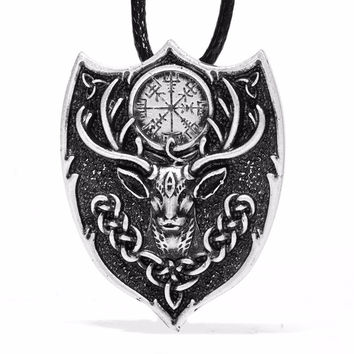 Stag/deer Amulet Pendant Necklace