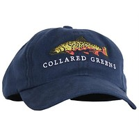 Trout Hat in Navy by Collared Greens