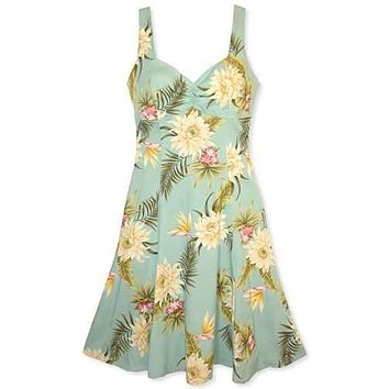 mountain hawaiian molokini dress