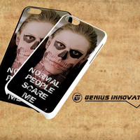 Tate Langdon Evan Peters Samsung Galaxy S3 S4 S5 Note 3 , iPhone 4(S) 5(S) 5c 6 Plus , iPod 4 5 case