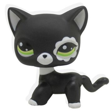 Cute Black Kitty Toy