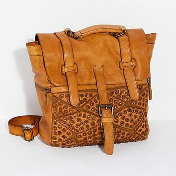 San Vito Distressed Backpack