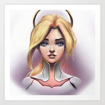 Mercy Art Print by foreverevey