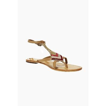 Sresha Sandals - Red