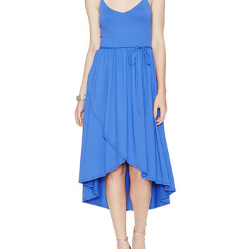 Taylor Jersey High Low Dress